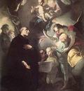 LEICHER Felix Ivo Saint Joseph Calasantius Before The Virgin