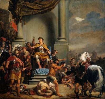 Consul Titus Manlius Torquatus Beheading His Son RJM