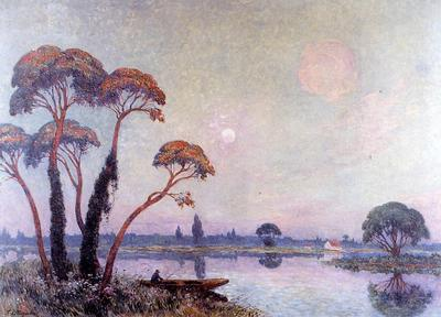 Puigaudeau Ferdinand du Fishermen by the Banks of the Loire