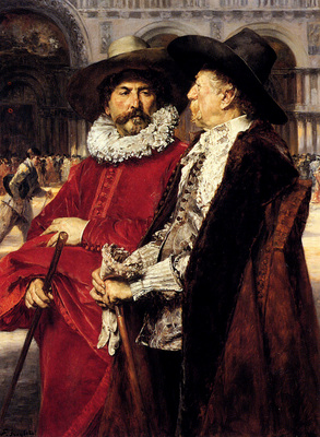 Roybet Ferdinand Deux echevins