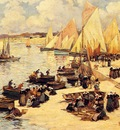 Legout Gerard Fernand A french Harbor