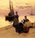 Legout Gerard Fernand Marie Eugene Breton Fisherwomen