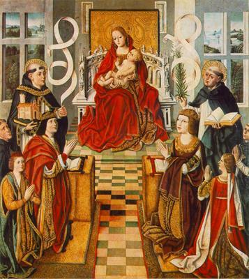 GALLEGO Fernando Madonna Of The Catholic Kings