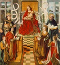 GALLEGO Fernando Madonna Of The Catholic Kings