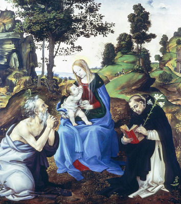 Lippi Filippino Holy Family
