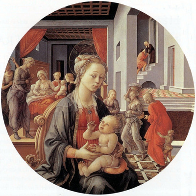 Lippi Filippino Madonna and Child