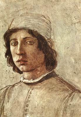 Lippi Filippino Self Portrait detail1