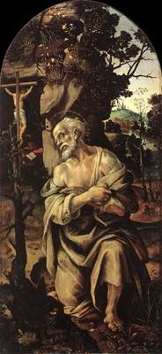 Lippi Filippino St Jerome 1490s
