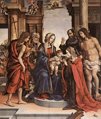 lippi filippino the marriage of st catherine