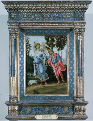 Lippi Filippino Tobias and the angel