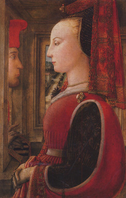 Lippi Filippino Two figures