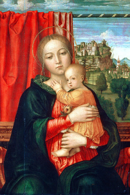 Lippi Filippino Virgin and child