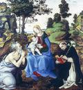 Lippi Filippino Holy Family