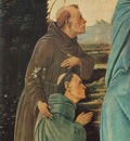 Lippi Filippino Madonna with Child St Anthony of Padua and a Friar before 1480 detail1