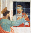 Lippi Filippino St Peter Visited In Jail By St Paul