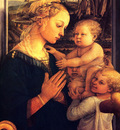 Lippi Filippino Virgin with children