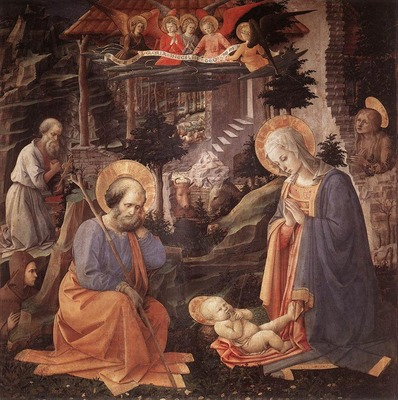 LIPPI Fra Filippo Adoration Of The Child