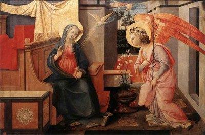 lippi fra filippo annunciation 1445
