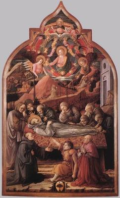 LIPPI Fra Filippo Funeral Of St Jerome