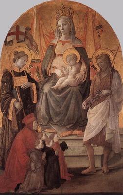 LIPPI Fra Filippo Madonna Del Ceppo