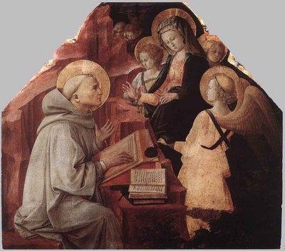 LIPPI Fra Filippo The Virgin Appears To St Bernard