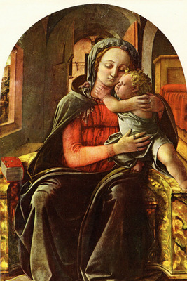 Lippi Filippino Madonna and Child2
