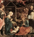 lippi fra filippo adoration of the child with saints 1460