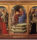 lippi fra filippo coronation of the virgin