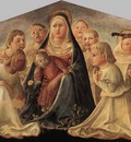 LIPPI Fra Filippo Madonna Of Humility Trivulzio Madonna