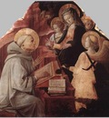 LIPPI Fra Filippo The Virgin Appears To St Bernard
