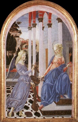 FRANCESCO DI GIORGIO MARTINI Annunciation