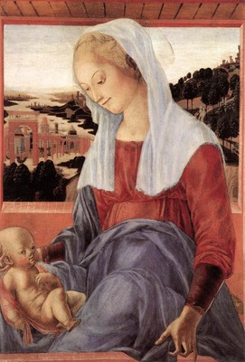 francesco di giorgio martini madonna and child