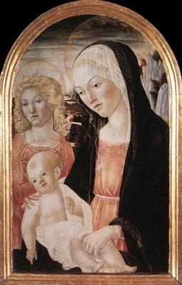 FRANCESCO DI GIORGIO MARTINI Madonna And Child With An Angel