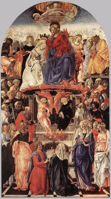 FRANCESCO DI GIORGIO MARTINI The Coronation Of The Virgin
