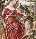 FRANCESCO DI GIORGIO MARTINI Chasity With The Unicorn