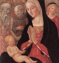 FRANCESCO DI GIORGIO MARTINI Madonna And Child With Saints And Angels