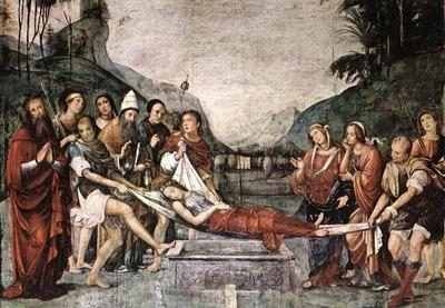 FRANCIA Francesco The Burial Of St Cecily