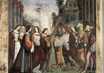 FRANCIA Francesco The Marriage Of St Cecily