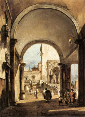 GUARDI Francesco An Architectural Caprice