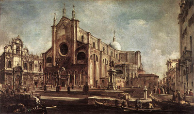 GUARDI Francesco Campo Santi Giovanni e Paolo