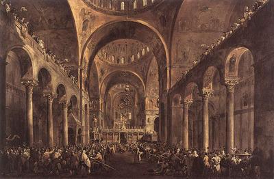 GUARDI Francesco Doge Alvise IV Mocenigo