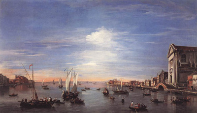 GUARDI Francesco The Giudecca Canal with the Zattere