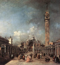 GUARDI Francesco Piazza di San Marco