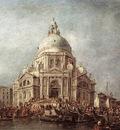 GUARDI Francesco The Doge at the Basilica of La Salute