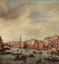 GUARDI Francesco The Grand Canal Looking toward the Rialto Bridge