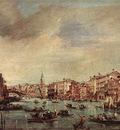 GUARDI Francesco The Grand Canal Looking toward the Rialto Bridge