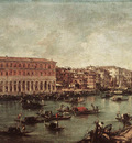 GUARDI Francesco The Grand Canal at th Fish Market Pescheria