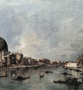 GUARDI Francesco The Grand Canal with San Simeone Piccolo and Santa Lucia