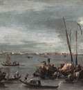 GUARDI Francesco The Lagoon Looking toward Murano from the Fondamenta Nuove