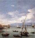 GUARDI Francesco The Lagoon from the Fondamenta Nuove